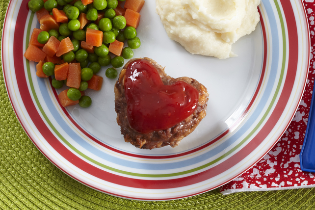 Heart-Shaped Meatloaf