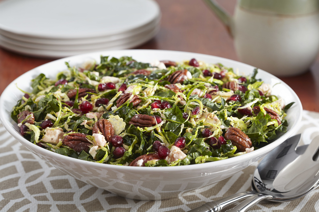 Kale-Pomegranate Salad with Pecans Image 1