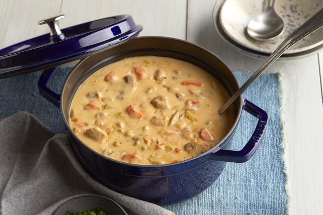 One-Pan Creamy Chicken Stew Image 1