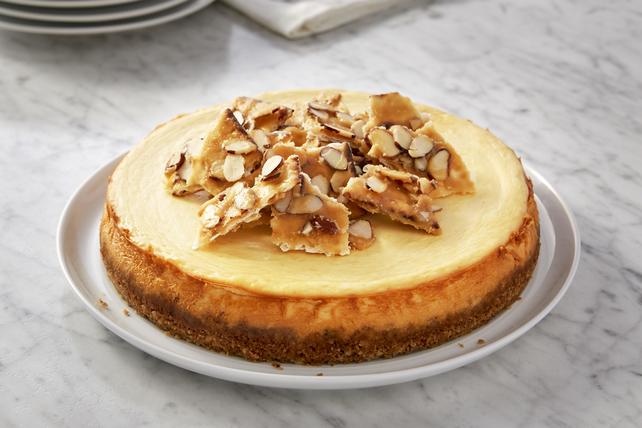 Toffee-Almond Matzo Cheesecake Image 1