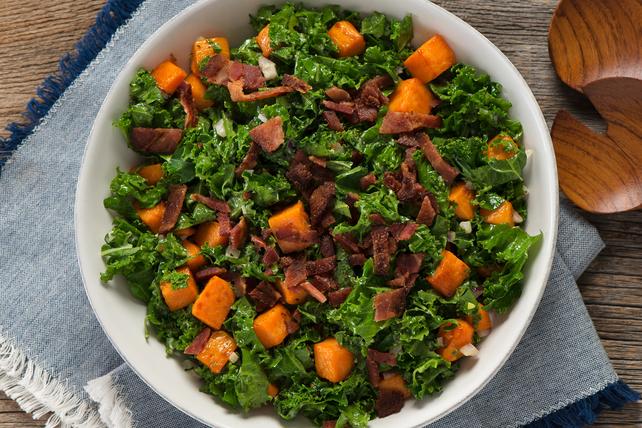 Kale and Sweet Potato Salad Image 1