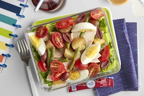 Sheet-Pan Chicken Niçoise Salad