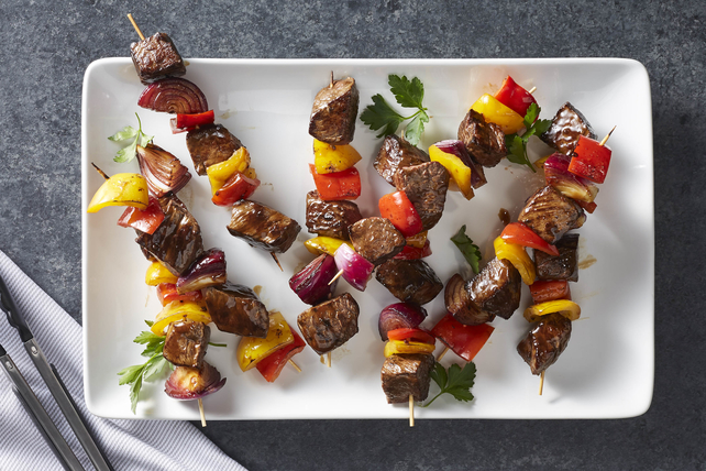 Easy Steak and Vegetable Kabobs Image 1