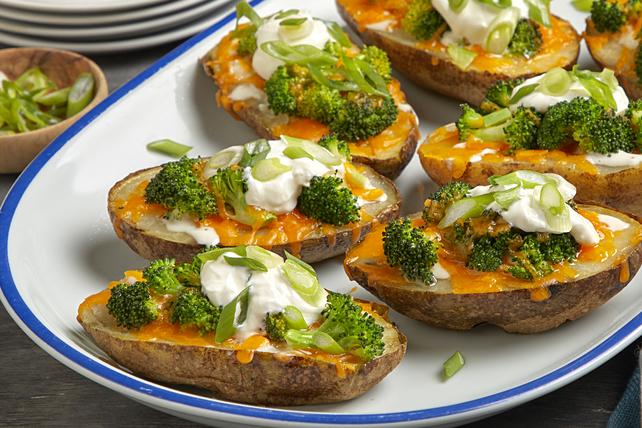 Broccoli-Cheese Potato Skins Image 1