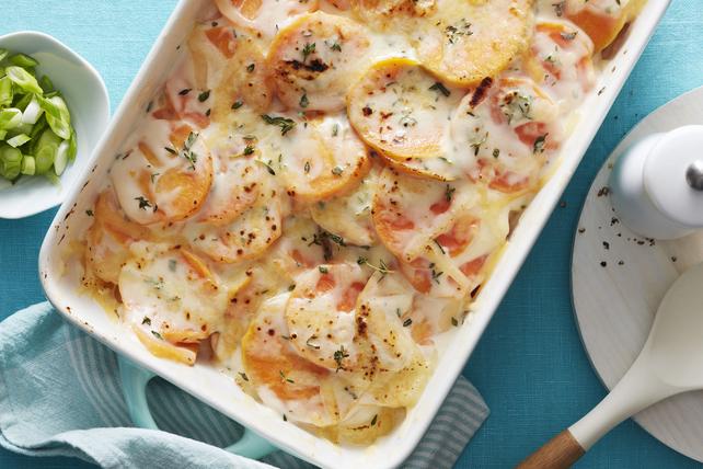 Patates douces et fines herbes au gratin Image 1