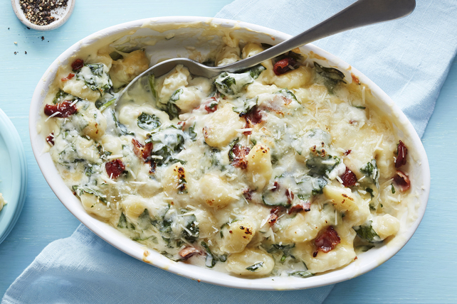 Four Cheese Creamy Gnocchi with Spinach  Image 1