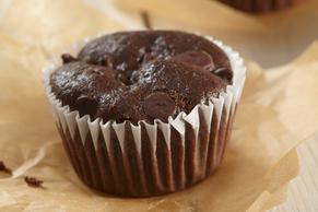 Black Bean-Brownie Muffins