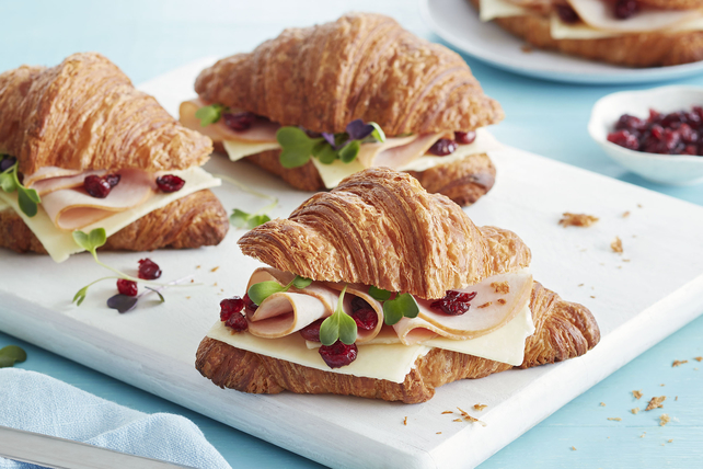 Classic French Sandwich Croissant Image 1