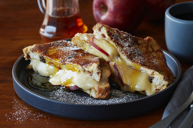 Apple-and-Cheddar Stuffed French Toast Image 1