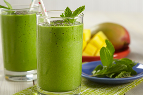 Mango-Mint Smoothie