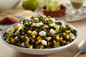 Black Bean, Cucumber and Feta Salad