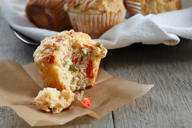 Bacon and Cheddar Muffins Image 1