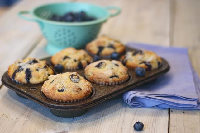 Blueberry-Corn Muffins Image 1