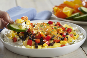 Spicy Mango-Black Bean Dip