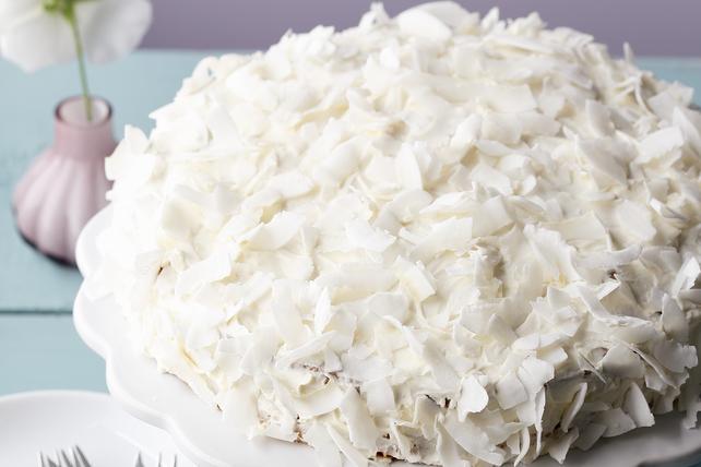 Gâteau à la vanille et à la noix de coco Image 1