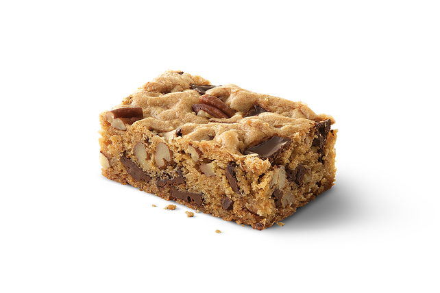 Dark Chocolate-Pecan Cookie Bars Image 1