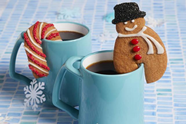 Biscuits aux épices à accrocher sur une tasse Image 1