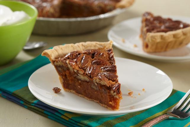 Caramel-Bourbon Pecan Pie Image 1