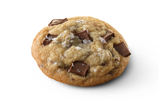 BAKER'S Salted Caramel-Milk Chocolate Chunk Cookies Image 1