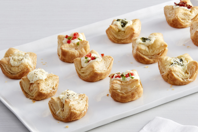 Savoury Puff Pastry Cups Image 1