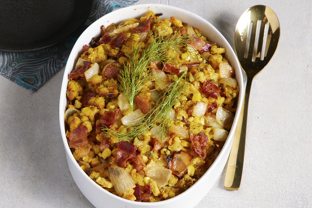 Cornbread Stuffing with Bacon Image 1