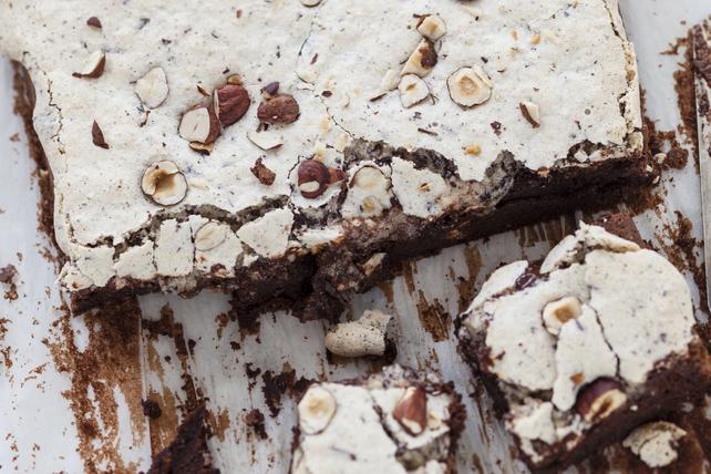 Brownies aux noisettes et à la meringue Image 1