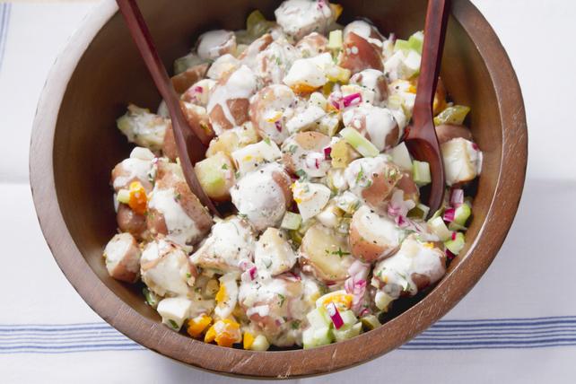 Salade de pommes de terre crémeuse et nourrissante Image 1