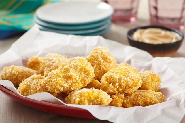 Croquettes de poulet cuites à la friteuse à air chaud  Image 1