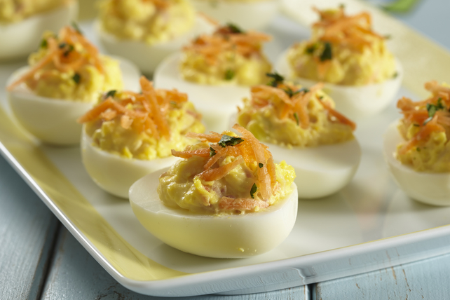 Corned Beef Devilled Eggs Image 1