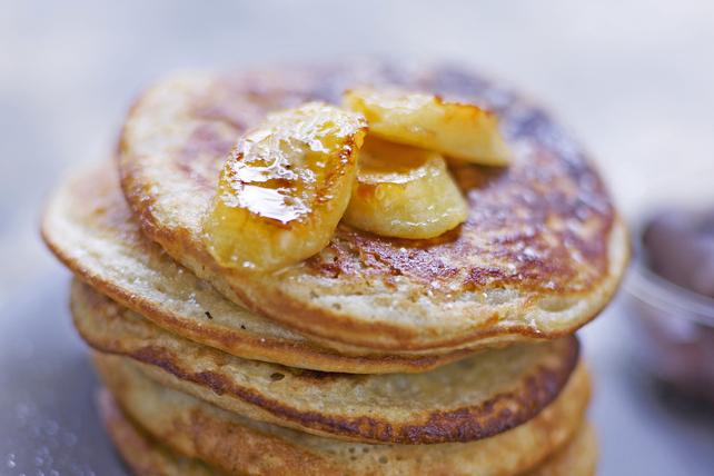 Crêpes aux bananes fraîches et au beurre d'arachide Image 1