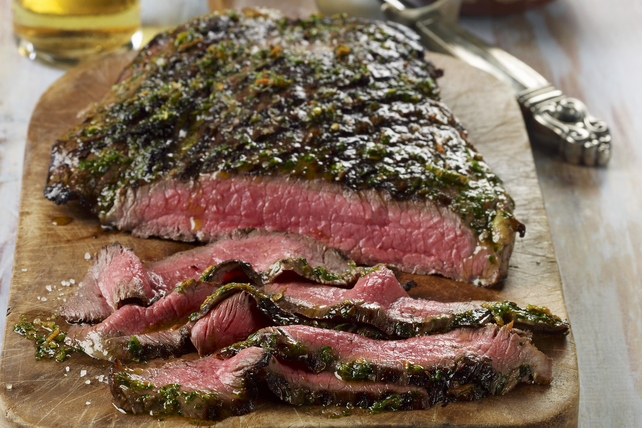 Grilled Flank Steak with Chimichurri Sauce Image 1