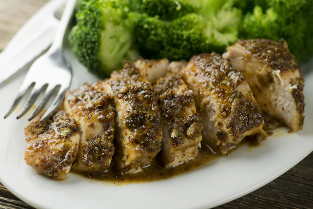 Pecan-Mustard Chicken Image 1