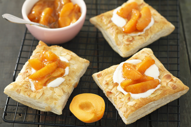 Puff Pastry-Apricot Squares Image 1