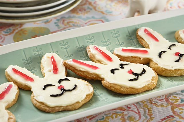 Crescent Bread Dough Bunnies Image 1