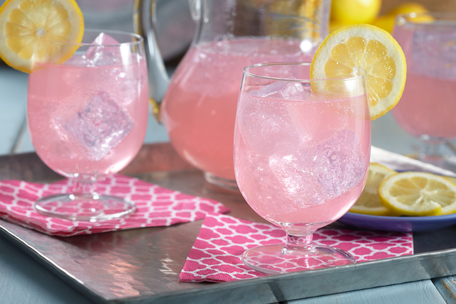 Pink Sparkling Punch