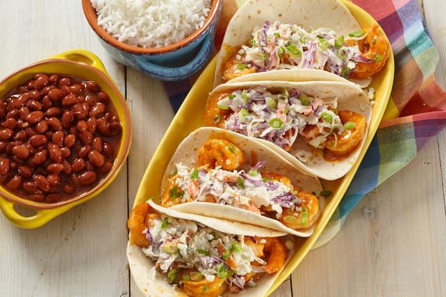 Tacos aux crevettes Buffalo Image 1