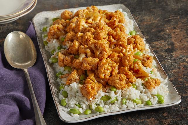 Chou-fleur à l'orange avec riz Image 1