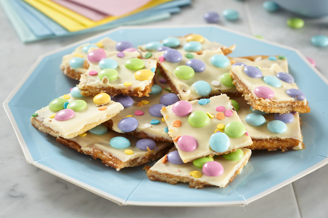Easter Layered Toffee Bark