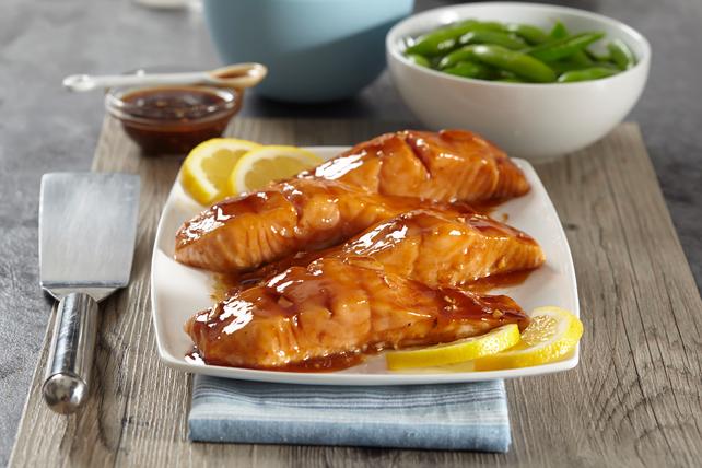 Honey-Garlic Salmon Image 1