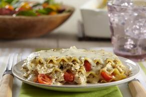 Pesto-Chicken Lasagna