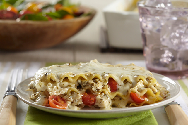 Pesto-Chicken Lasagna Image 1