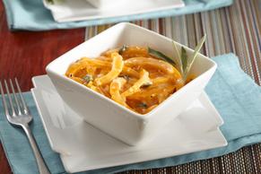 Butternut Squash Spaghetti Alfredo