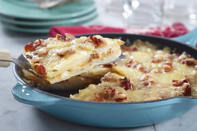 Potato-Cheese Gallette Image 1
