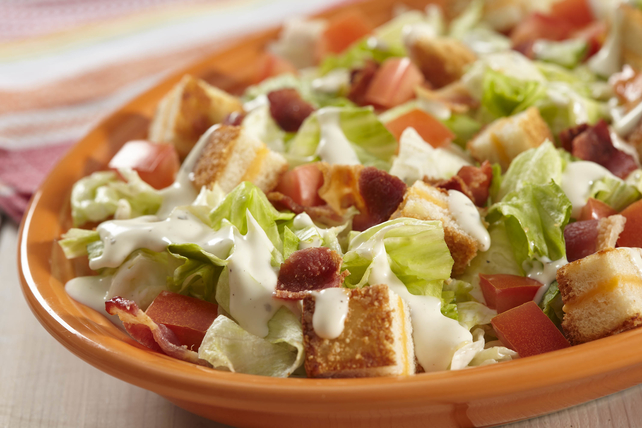 BLT Salad with Grilled Cheese Croutons Image 1