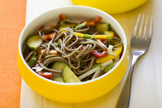 Soba Noodle Salad with Crispy Vegetables  Image 1
