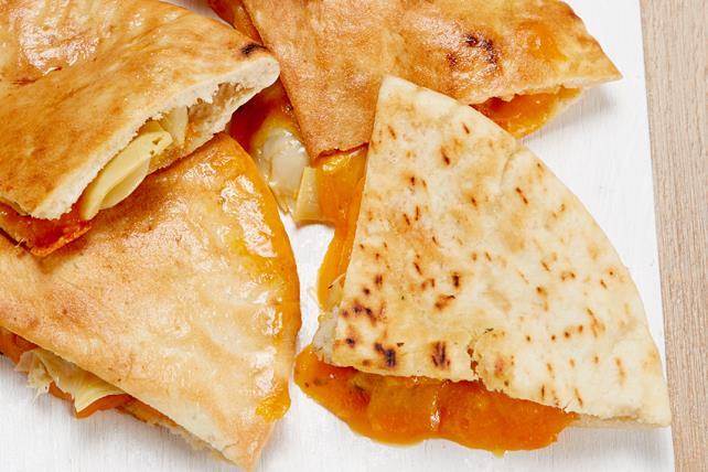 Pitas au fromage fondant et aux artichauts Image 1