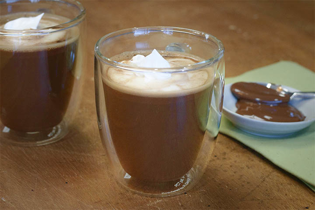 Creamy Chocolate-Hazelnut Coffee
