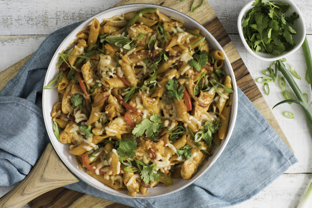 One-Pot Chicken Fajita Penne Image 1