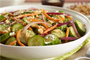 Salade de concombres à la japonaise