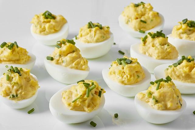 Lemon Devilled Eggs Image 1